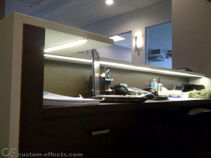 Led Illuminated Reception Desk
