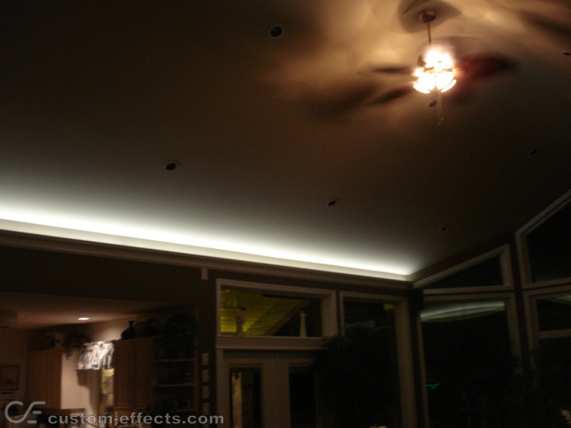 Custom effects led solutions surrey bc canada for Living room uplighting