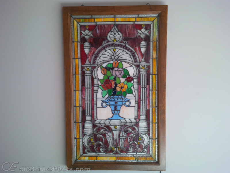 Led Backlit Stained Glass Window
