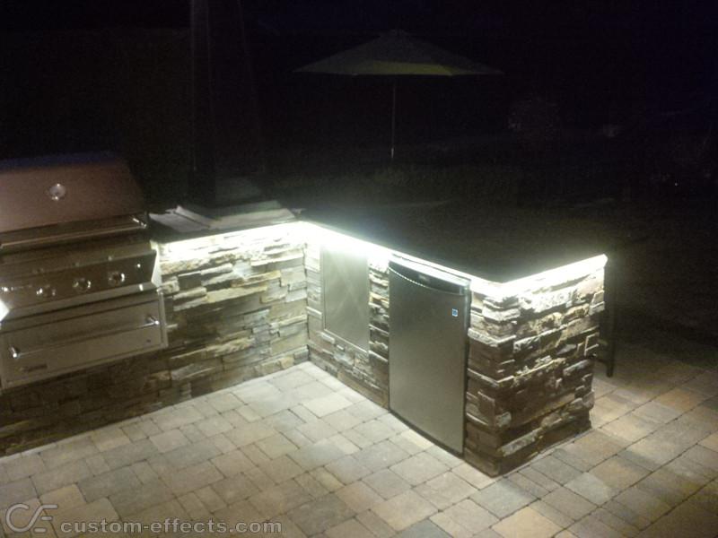 outdoor kitchen led lighting kitchen ideas