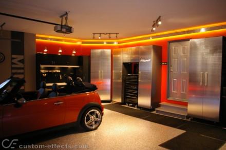 garage interior. Garage Interior